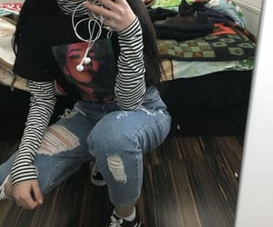outfit, grunge, and clothes image