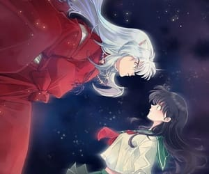 romance, inuyasha, and kagome image