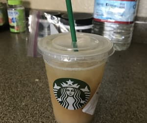 iced tea, starbucks, and pina colada image