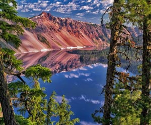 lake, oregon, and national park image