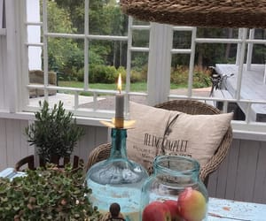 apples, candles, and interior image