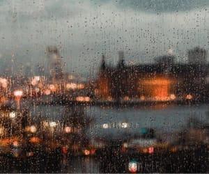 rain, city, and article image