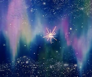 aesthetic, sailor moon, and space image