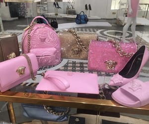 pink and Versace image