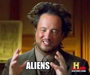 aliens, meme, and reaction meme image