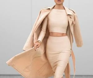 accessories, fashion, and coat image