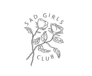 sad, girl, and wallpaper image