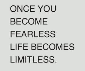 fear, life, and be fearless image