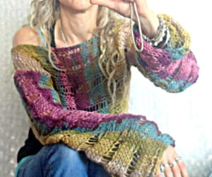etsy, bohemian style, and womens sweater image