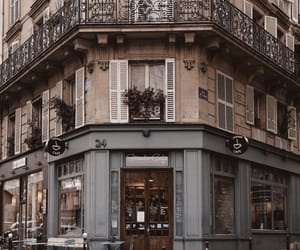 building, aesthetic, and cafe image