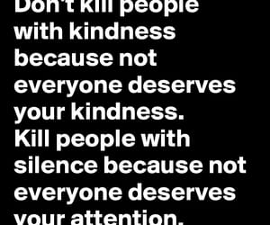 attention, kill, and silence image
