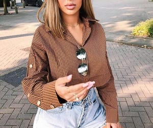 brown, casual, and fashion image