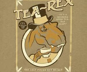 clothes, shirt, and t-rex image
