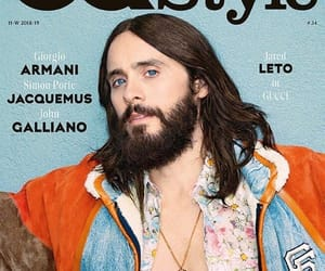 gq magazine, jared leto, and 30 seconds to mars image