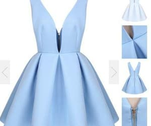party dress, short dress, and hoco dress image