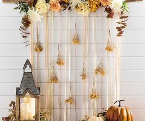 autumn, orange, and candles image