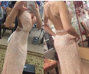 sexy prom dresses, sequin prom dresses, and backless prom dresses image