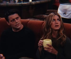friends, joey tribbiani, and rachel green image