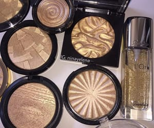 beauty, gold, and abh image