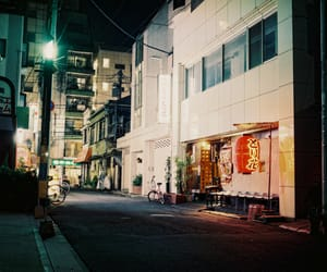asia, night, and street image