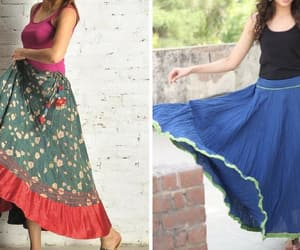 fashionterest, long skirt designs, and skirt designs image