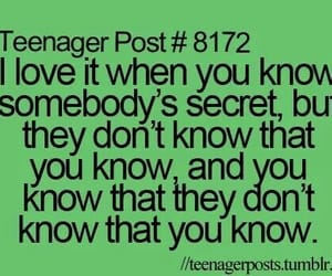 secret, funny, and teenager post image