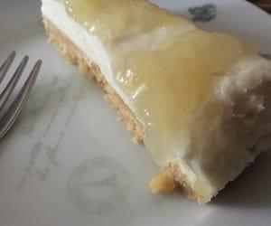 cake, lemon, and cheescake image