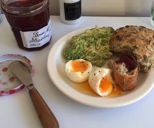 beautiful, breakfast, and eggs image