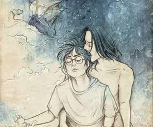 harry potter, snarry, and severus snape image