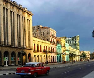 convertible, oldtimer, and cuba image