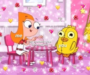 meme, phineas and ferb, and cute image