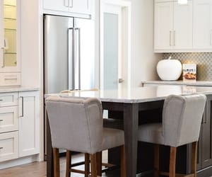 kitchencabinets, homeimprovementideas, and whitekitchencabinet image