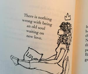 love, quotes, and old soul image