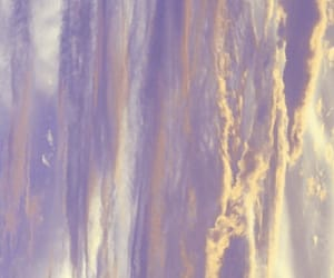 background, clouds, and lavender image