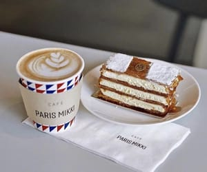 bakery, coffee, and cream image