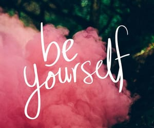 wallpaper, be yourself, and quotes image