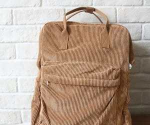 backpack, bag, and brown image