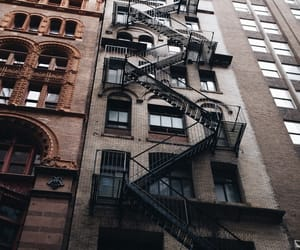 new york, city, and architecture image