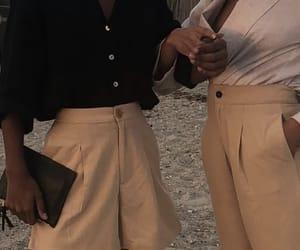 bag, mode, and pants image