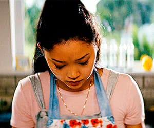 gif, lana condor, and peter image