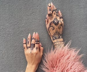 henna, nails, and fur image