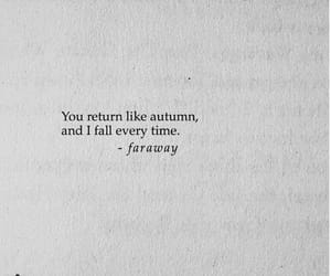 quotes, autumn, and love image