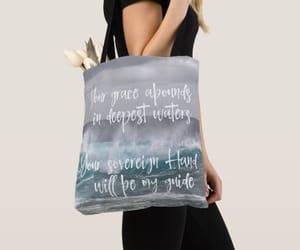 bags, Lyrics, and bible image