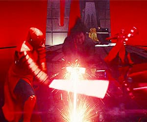 gif, star wars, and kylo ren image