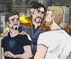 Avengers, ironstrange, and guys image