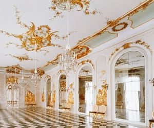 beautiful, gold, and interior image