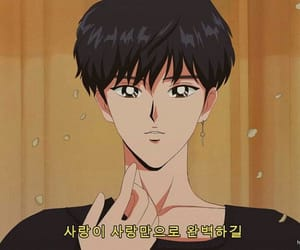 bts, jin, and anime image