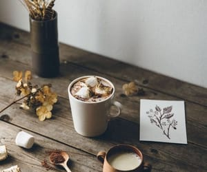 autumn, fall, and table image