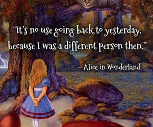 alice in wonderland, books, and quotes image