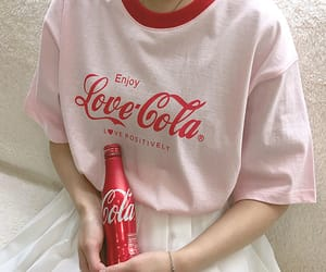 aesthetic, clothes, and coca cola image